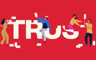 Building trust during broken times